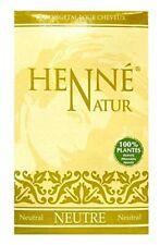 Henné Neutre 90gr Entretien Cheveux Soin Naturel NJD France