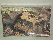 Dragon 1/35 Scale 15cm Sturm-Infanteriegeschutz 33 auf Pz III - Factory Sealed