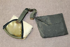 Original WW2 German Army Soldier's Dust Goggles (Eye Shields) in Storage Pouch