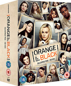 ORANGE IS THE NEW BLACK COMPLETE SEASON 1-7 COLLECTION DVD BOX SET 28 DISC NEW