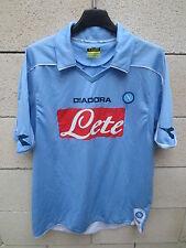Maillot NAPLES NAPOLI DIADORA maglia calcio 2009 camiseta LETE shirt trikot M