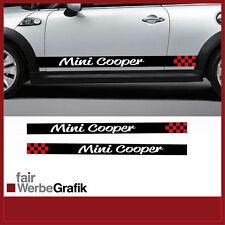 Aufkleber/ Sticker/Seitenbeschriftung / Dekor/ Mini Cooper / #079