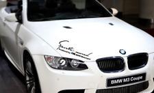 BMW M motorsport Hood Sticker Car Body Decal for BMW 13456 M12356 X1 X3 X6 X5 GT