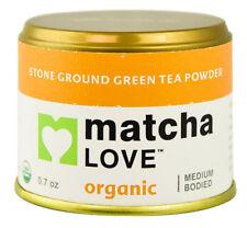 MATCHA LOVE ORGANIC - STONE GROUND TEA POWDER 0.7 OZ
