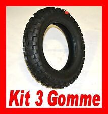 GOMME ANTINEVE APE 50 ARTIGLIATE KIT 3 COPERTONI CROSS VEE RUBBER 3.00-10
