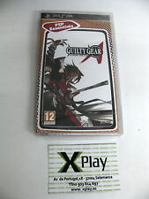 PSP Guilty Gear XX Accent Core Plus Essentials Nuevo Precintado Pal España