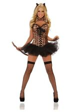 USED DELUXE SEXY LEOPARD COSTUME SIZE SMALL
