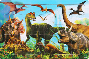 Puzzle Wooden school Kids 30Pieces Animal Puzzle for Learning Kids Solve & Win