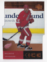 00-01 UD Ice Brendan Shanahan /25 IMMORTALS Red Wings 2000