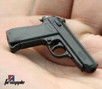 "1/6 Scale PPK Pistol Gun For 12"" Action Figure Rifle Model Weapon Soldier SWAT"