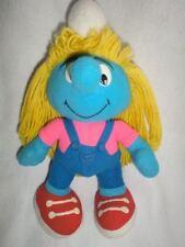 Smurf Smurfette Plush Stuffed Toy Doll Peyo 1996 Toy Island Smurfs