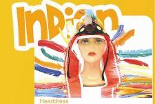 Indianerfederschmuck - Karnevalskopfbedeckung