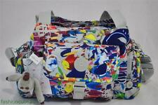 New With Tag KIPLING FAIRFAX MEDIUM SHOULDER / CROSSBODY BAG -Bright Splash Grey