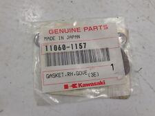 Kawasaki KX125-D1 E1 E2 KMX125-A12 A13 A14 11060-1157 GASKET,RH,GOVERNOR Exhaust