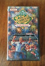 THE GREAT MOMENTS IN BASEBALL HISTORY RECORD BREAKERS SEALED  VHS