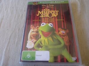 The Muppet Show : Season 1 (DVD, 2011, 4-Disc Set) Region 4 Jim Henson, Frank Oz