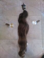 Hair Extensions natural human hair weigsh 171 g measures 20 inches