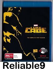 Luke Cage The complete first season 4Bluray+Special features All region Australi