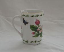 STANLEY PAPEL Otagiri Japan Apple Flower Porcelain Coffee Cup MugGold Trim EUC