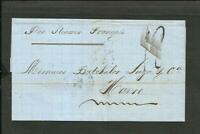 FRANCE GUADALUPE 1868 TO FRANCE (HAVRE)  PAQUEBOT COVER