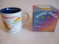 CAPRICORN ZODIAC TEA / COFFEE CUP / MUG - NEW IN GIFT BOX