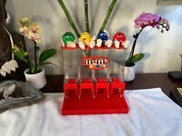M&M'sCandy Dispenser Blue Red Green Yellow Figures Rare Mars INC Vintage