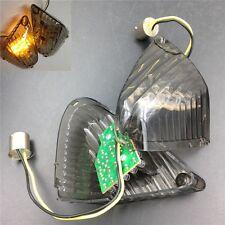 Rear Turn Signal Len Cover w/ LED light For Suzuki 2005-2006 GSXR1000 Smoke