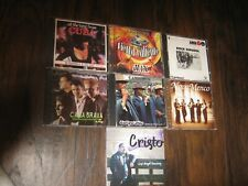 lot of 7 [ latin music] cds 4 cds in vg condition 2 cds in good cond 1 cd is new