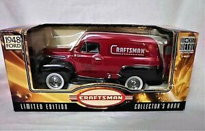 1997 Liberty Classics Craftsman 1948 Ford Delivery Van Truck Diecast Bank 68020