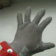 stainless Steel Chain Mesh Glove LARGE ,provides superior cut &slash protection