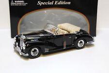 1:18 MAISTO MERCEDES 300s 1955 CABRIO BLACK NEW in Premium-MODELCARS