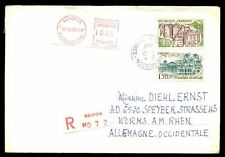 France 1987 Registered Cover To Germany #C6886