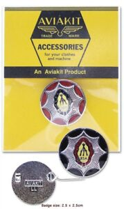 BSA Gun Badge by Lewis Leathers AVIAKIT Black / Red