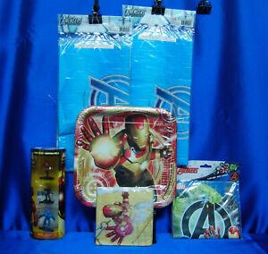 Iron Man 3 Party Plates Iron Man 3 Beverage Napkins  Avengers Loot bags