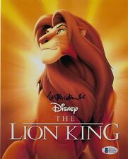 Matthew Broderick Signed Simba Lion King Disney 8X10 Photo Bas Coa Autograph