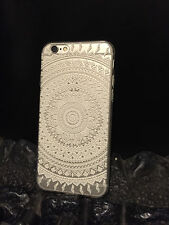 Cover Apple iPhone 6/6S Silicone 'Clear Lace' effect fits iphone 6 /6S