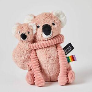 Les Déglingos Ptipotos Pink Koala Mum & Baby