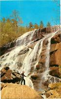 Postcard Estatoah Falls Clayton Georgia