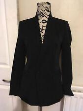 Michael Kors Jacket Textile Long Sleeve Black Ladies Size M(10-12) New