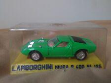 Preciosa miniatura 1:43 Lamborghini Miura P400 Joal 125 Serie 100 Made in Spain.