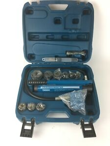 """TEMCo TH0004 2"""" HYDRAULIC KNOCKOUT PUNCH Electrical Conduit Hole Cutter Set"""