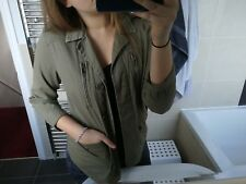 Khaki green summer jacket from New Look, originally £19.99. Perfect condition