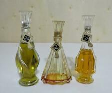 Vintage D' Orsay 3 Bottle Perfume Set Le Dandy, Intoxication, Divine Eau De