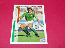 DAVID KELLY IRELAND EIRE FIFA WC FOOTBALL CARD UPPER USA 94 PANINI 1994 WM94