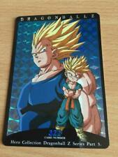 Carte Dragon Ball Z DBZ Hero Collection Part 3 #322 Prisme 1995 MADE IN JAPAN
