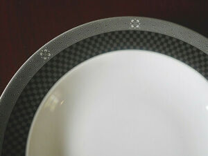 Wedgwood Metropolis Accent Rimmed Bowl Pasta Plate several available