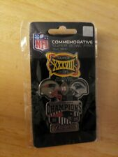 """Patriots Superbowl 38 Commemorative 3"""" Lapel Pin, New in Package"""