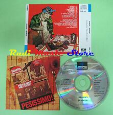CD SKIANTOS Pesissimo italy BOLLICINE CDOR 9032 1 stampa (Xi3) no lp
