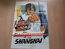 Der Schlaghammer aus Shanghai -  Original Kinoplakat A 1