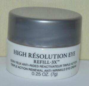 LANCOME High Resolution Eye Refill-3X .25 OZ ~ Travel Size